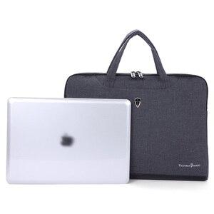 """Image 5 - Victoriatourist sacchetto Del Computer Portatile 14 """"15.6"""" degli uomini di affari delle donne borsa elegante sacchetto del messaggero Valigetta Portatile Leggero"""