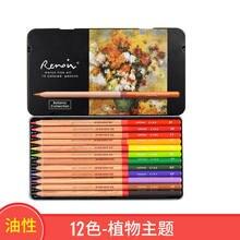 Marco renoir fine12 cores desenho base de óleo lápis estanho definir lápis coloridos para figura/paisagem/planta desenho