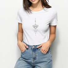 New T shirt Female Funny Graphic Top Tee Tattoo Designs Aest