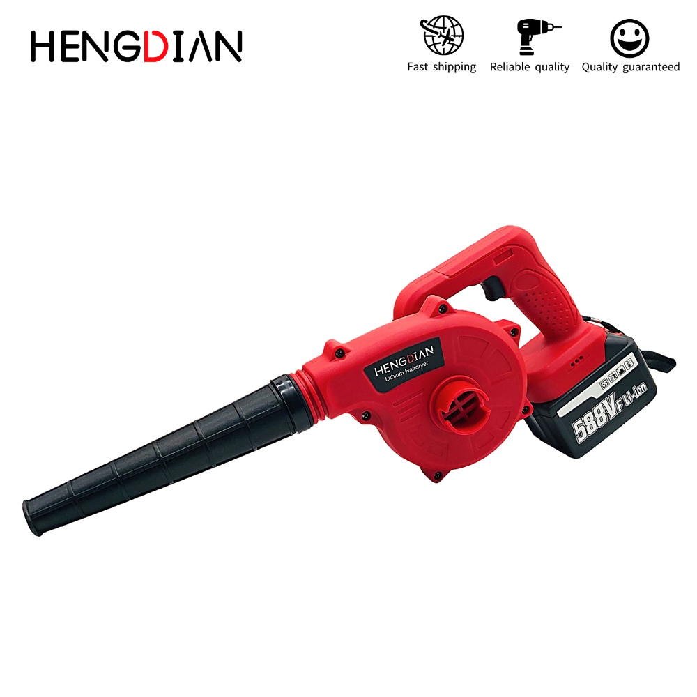 Leaf Function Blowing HENGDIAN 2 Blower And Tools Garden Cordless 1 Suction Air In Dust