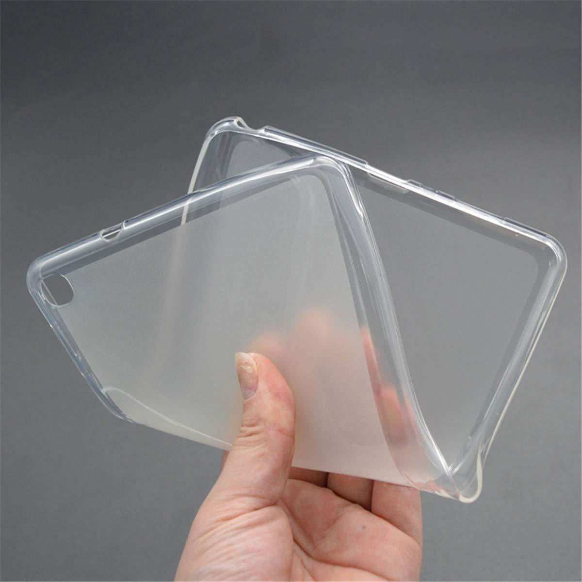 For Samsung Galaxy Tab A 8.0 2019 Case TPU Silicon Transparent Slim Cover Tab A 8.0