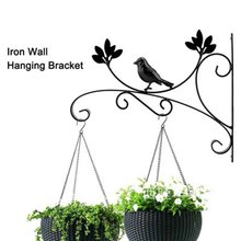 2 wall hanging flower stand outdoor balcony basket orchid bracket