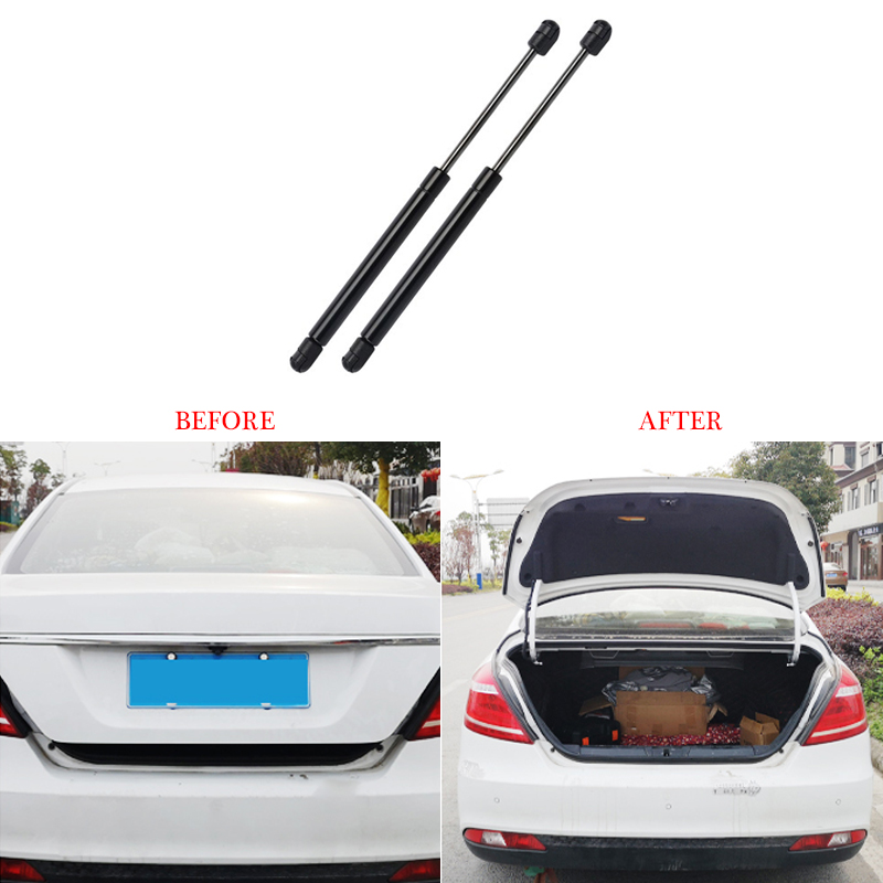 2Pcs Car Trunk Gas Spring Rods Tailgate Lift Strut Boot Support Rod Car Accessories Bracket For Mitsubishi Outlander 2018 2017