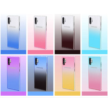 Soft Case For Samsung Galaxy Note 10 Plus Pro Luxury Gradient Cover Armor Bumper shockproof case
