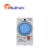 цена на TELEHAN 24h Timer Relay, TB-118 24 hours  Built-in rechargeable battery, 220V 24h timer switch, 24 hours  mechanical timer