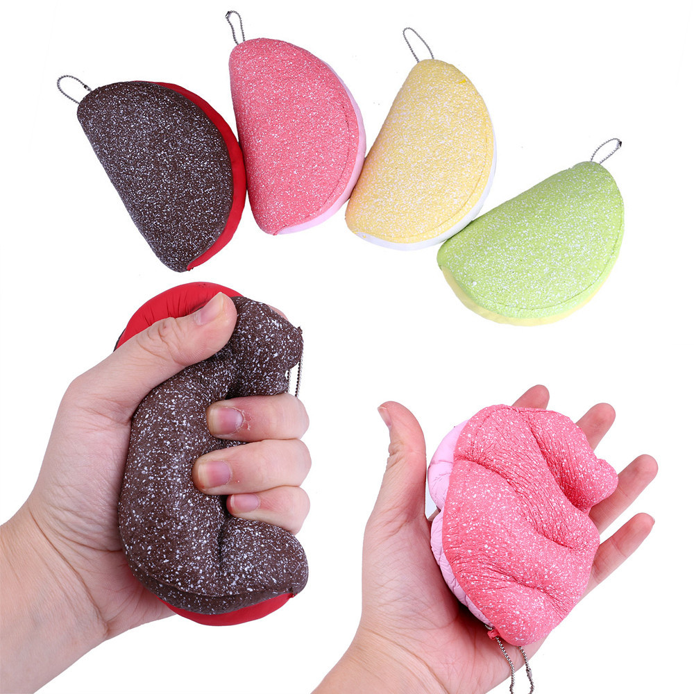 Simulation Of Open LoafSimple Open Mouth Slow Rising Scented Squeeze Relieve Stress Toy Sport Entertainment  L0110
