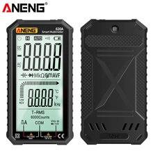 ANENG 4.7-Cal wyświetlacz LCD AC/DC multimetr cyfrowy ultraprzenośna prawda-RMS multimetr Auto zakrojone Tester wielofunkcyjny Tester NCV