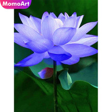 MomoArt Scenic Diamond Embroidery Flowers Mosaic Diy Painting Full Drill Square Rhinestone Wall Decoration