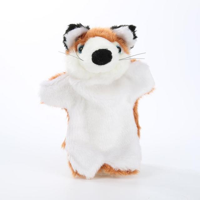 ручные куклы детские мини животные обучающие ручные мультяшные фотография