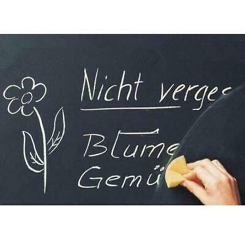 1pc Vinyl Chalkboard Sticker Removable Vinyl Art Draw Chalk Board Stickers Kids Rooms Blackboard  Message Board 45*200cm
