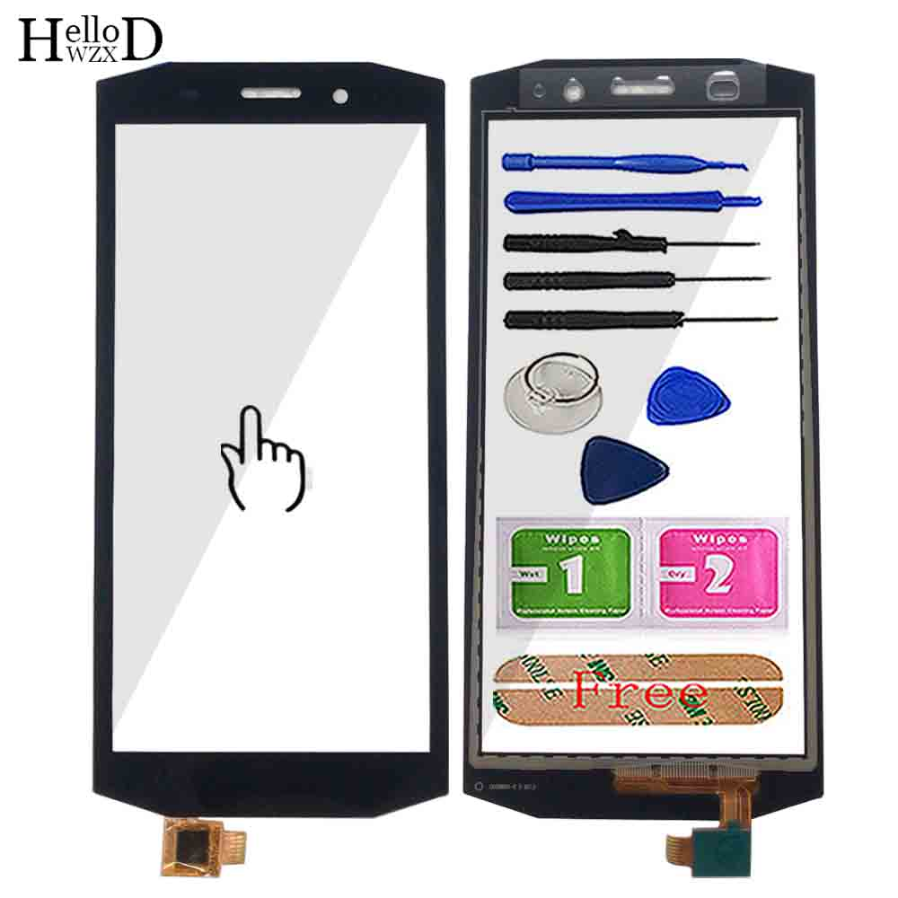 Mobile Touch Screen For Blackview BV5800 Touch Screen Digitizer Panel Front Glass Lens Sensor TouchScreen Tools 3M Glue Wipes