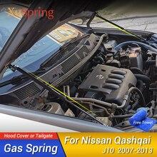 Auto Motorhaube Haube Gas Federbein Aufzug Unterstützung Stange Bars Halterung Auto styling Für Nissan QASHQAI J10 2007 2009 2010 2011 2012 2013