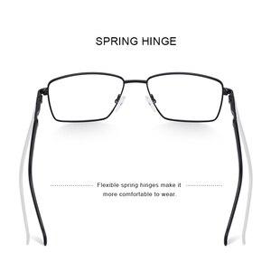 Image 3 - MERRYS дизайн мужские роскошные очки оправа близорукость по рецепту очки Оптическая оправа Бизнес Стиль S2107