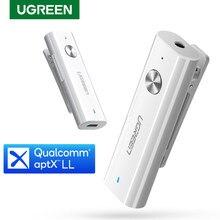 Ugreen Bluetooth 5.0 ricevitore 3.5mm APTX LL adattatore AUX per cuffie altoparlante musica ricevitore Audio Wireless Bluetooth 3.5 Jack