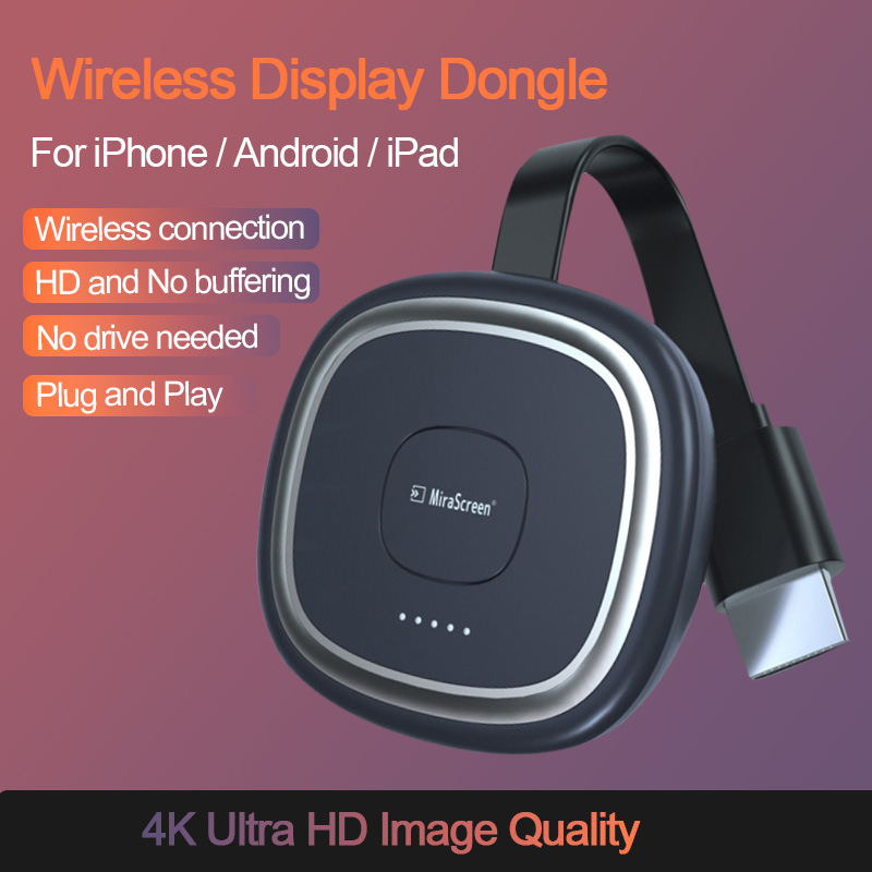 G20 TV Stick 5G Video 4K Full HD WiFi Display Dongle HDMI Media Video Streamer TV Dongle Empfänger für Google chrome