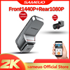 New Sameuo car dvr camera dual lens full hd 1080p triple dash cam dual hd 1080p front and rear built in wifi 1000 voice recorder 1