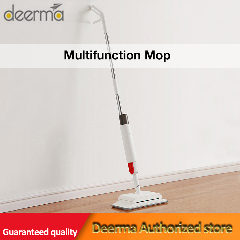 Newest Deerma TB900 Water-Spray Mop Sweeper 230ml Dustbin 280ml Watertank Rotatable Design Multifunction Electic Mop For Home