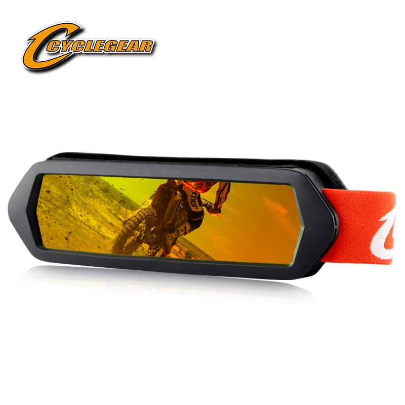 Cyclegear 2020 New Horizontal Screen Motocross MX Goggles Motor Bike Cycling Glasses ATV Outdoor Activity Hiking Gafas Motorcycle Glasses     - title=