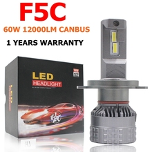 Fog-Light Headlights-Bulb Car-Led-Lamps H11 12000LM H7 9006 9005 F5c 120w H13 H8