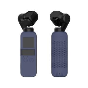Image 3 - 6 色セットソフトシリコンケース DJI OSMO ポケットプロテクターカバーとネックストラップストラップ Osmo ポケットハンドヘルドジンバル
