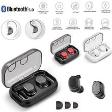 TWS 5.0 Bluetooth Earphones Wireless Headphones Waterproof Sports Earbuds Stereo Headset Handsfree Auriculares For Phones Xiaomi meelectronics mee audio x6 plus stereo bluetooth wireless sports in ear headphones headset handsfree earphone auriculares inalam