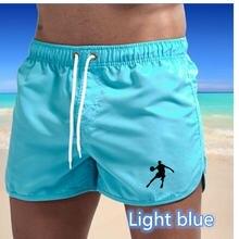 2021 Для мужчин шорты для фитнеса бодибилдинга на резиновой