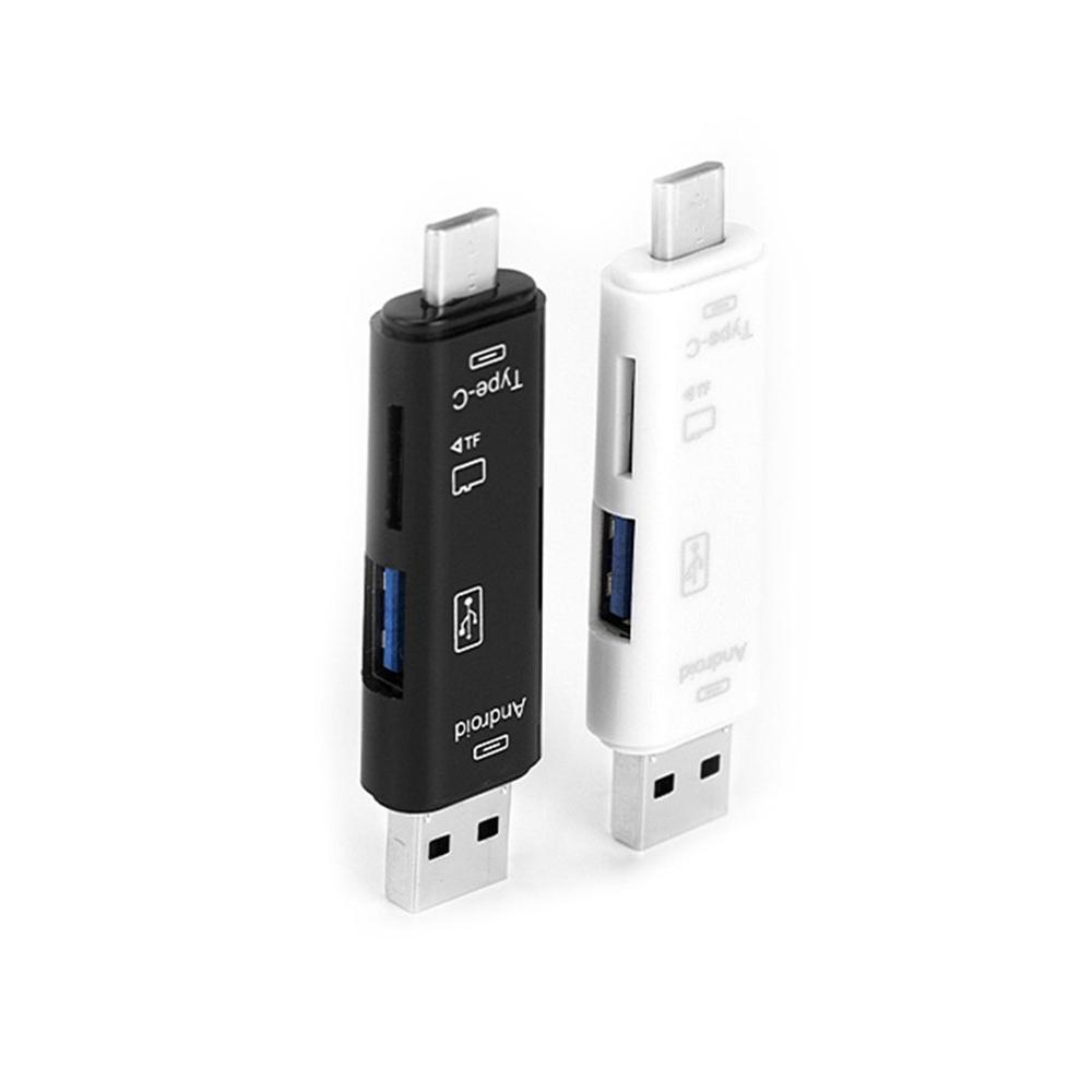 Usb Stick Reader Type C Micro Sd Usb Otg Card Adapter 3 In 1 Usb-C Flash Stick Tf Read For Android Mobile Phone