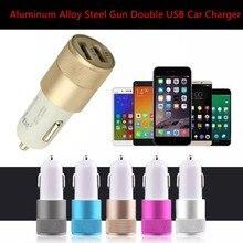 Cigarette-Lighter Socket-Charger Twin-Port Adapter Usb-Plug Universal 12v Car Mini Gold