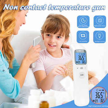Household non-contact handheld forehead thermometer digital LED infrared termometrodigital 40*