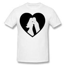 New Mens High Quality Cotton Ehe Herz DIY T-Shirts O-Neck Short Sleeve Boy T Shirt,Big Size S-5XL