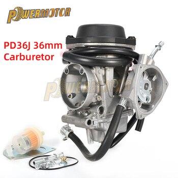 36mm Carburetor Motorcycle PD36J Carburador for ATV KFX 400 KFX400 2003~2006 UTV LTZ LTZ400 Raptor Kodiak YFM400