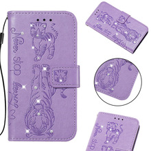Luxury Bling Diamond Filp Wallet Phone Case For Samsung Galaxy M10 M20 M30 M40 Case For Samsung S10 S9 Plus S10e Back Cover Gift filp case for samsung galaxy s9 cat and bees pattern wallet stand cover