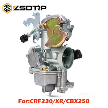 ZSDTRP Motorcycle 30mm Carburetor Racing Carb Scooter Motorbike Part For Honda CRF230/XR/CBX250 Motorcross