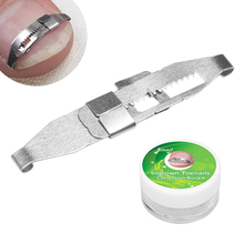 1Pc Stainless Steel Ingrown Toe Nail Correction Pedicure Tool Patch Fixer Recover Corrector Nail Fil