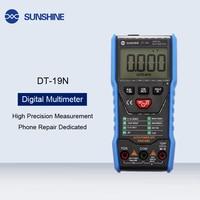Telefon Reparatur Gewidmet Mini Hohe Genauigkeit Digital Multimeter Elektriker Haushalt Widerstand Temperatur Tester Mit Licht Elektrowerkzeug-Sets Werkzeug -