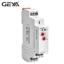лучшая цена GEYA GRT8-B Delay Off Timer Relay 16A AC230V OR AC/DC12-240V Din Rail 12V Time Delay Relay