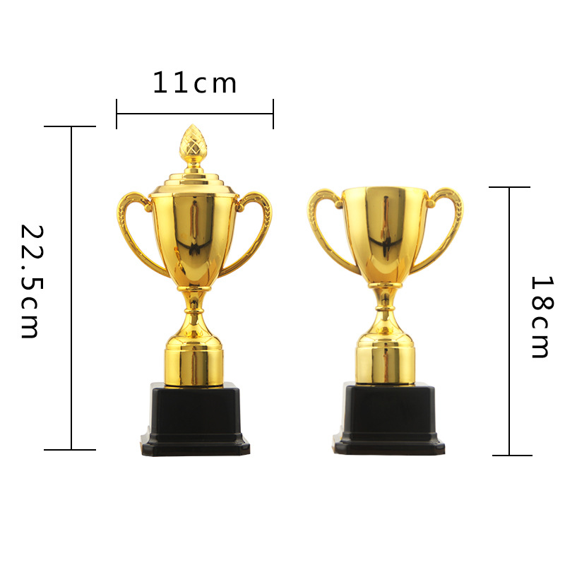 Gold Statue Factory 2017 New Style Trophy Kindergarten Children Trophy Plastic Little Trophy Wholesale