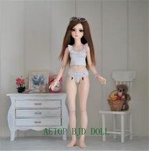 Aetop bjd boneca 1/4 mirwen incluindo cabeça de sono