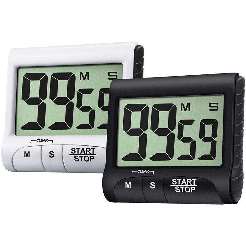 or Office Meetings Kitchen Timer 60 Minute Baking Gym white For Cooking Homework BEST PRODUCT Mechanical Timing Loud Alarm