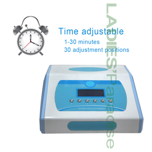 Image 4 - Professionalที่มีประสิทธิภาพUltrasonic Facial Skin Scrubber Ion Deep FaceทำความสะอาดPeeling Beauty Care Instrument