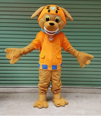 New Hot Sale!!  Dog Mascot Costume Top Quality Adult Cartoon Christmas Party Mascot Costumes Free Shipping