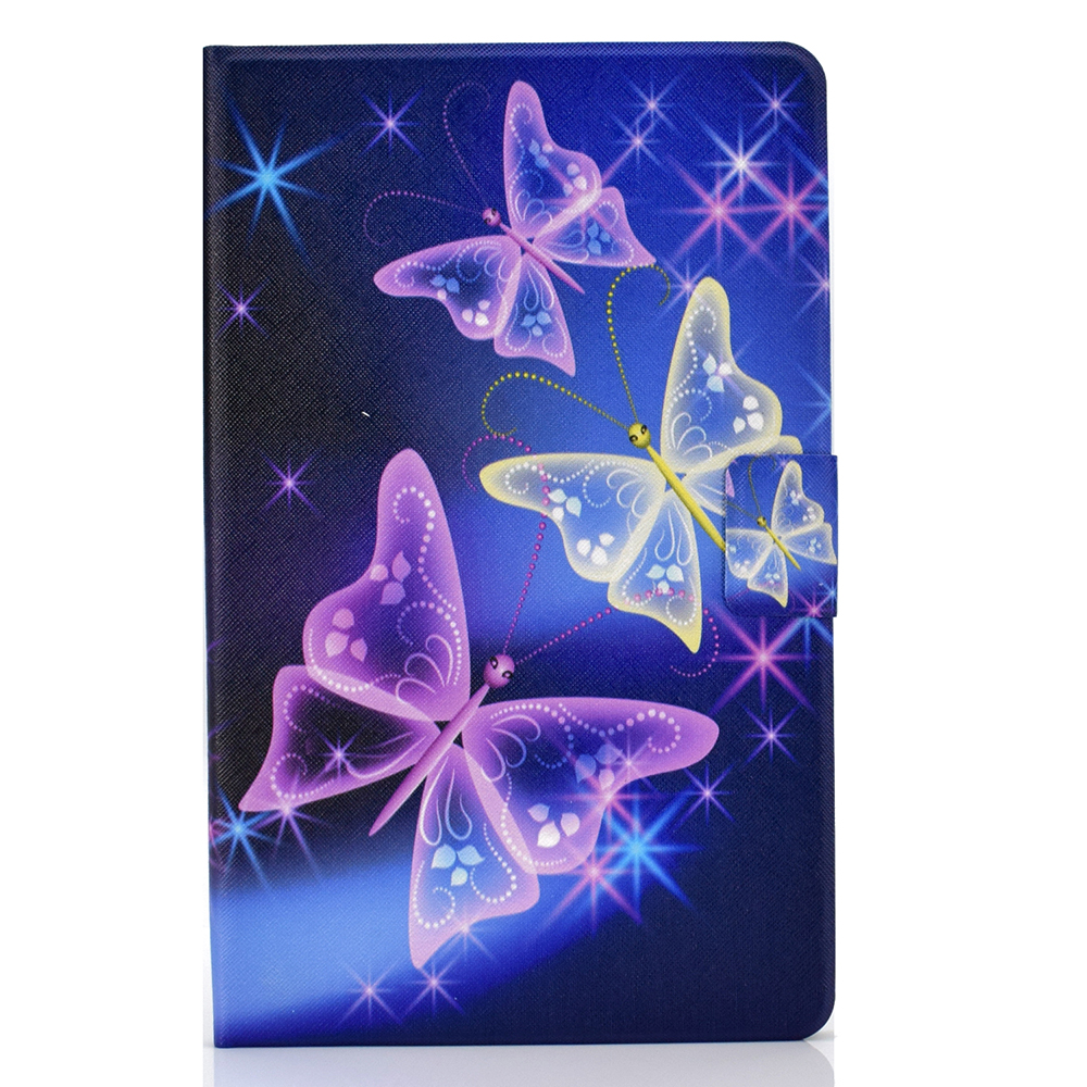 as photo Purple Flip Case For iPad 10 2 Case 2019 A2200 A2198 A2232 10 2 inch Funda Stand