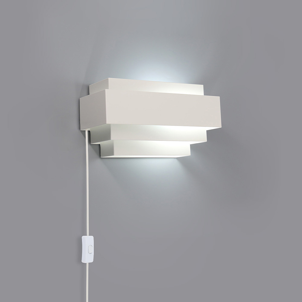 Modern 6W Indoor Wall Lights LED Lighting Up Down Cold White Lamp Sconces