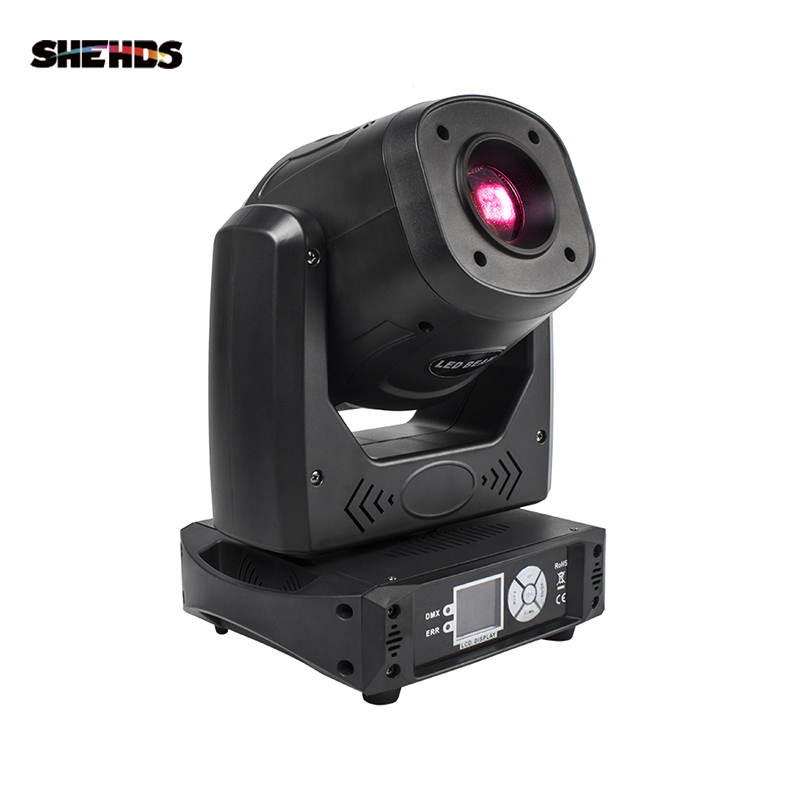 Spot 100W LED Moving Head Gobo Light Patten Color With 3 Face Prism Disco Wedding Party DJ Stage Effect Equipment SHEHDS