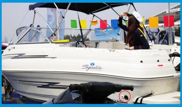 Nylon Plastic Thru Hull Bilge Fitting With Stainless steel Rim Bilge Pump Aerator Hose  Boat Marine Yacht Sail RV Accessories 4