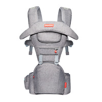 Baby Carrier Infant Baby Hipseat Waist Carrier Front Facing Ergonomic Kangaroo Sling for Baby Travel 0 36M
