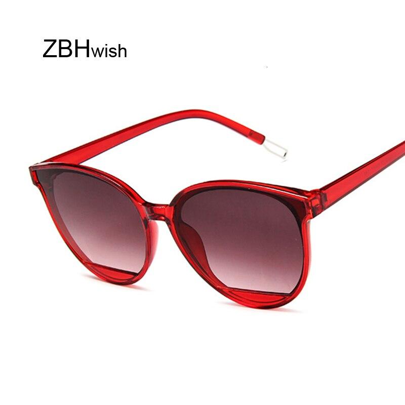 2019 Vintage Cat Eye Sunglasses Women New Lovely Sun Glasses For Ladies Cute Sexy Brand Designer Fashion Cool Retro Uv400