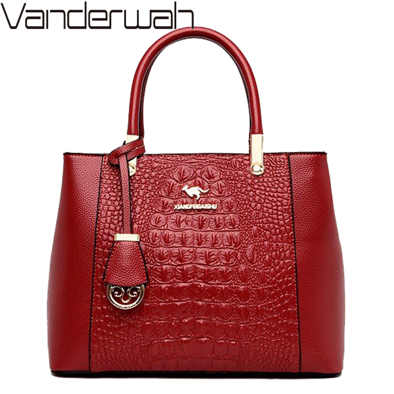 Luxury Handbags Women Bags Designer Elegant Women Handbag Fashion Crocodile Pattern Shoulder Crossbody Bags For Women Tote Bag
