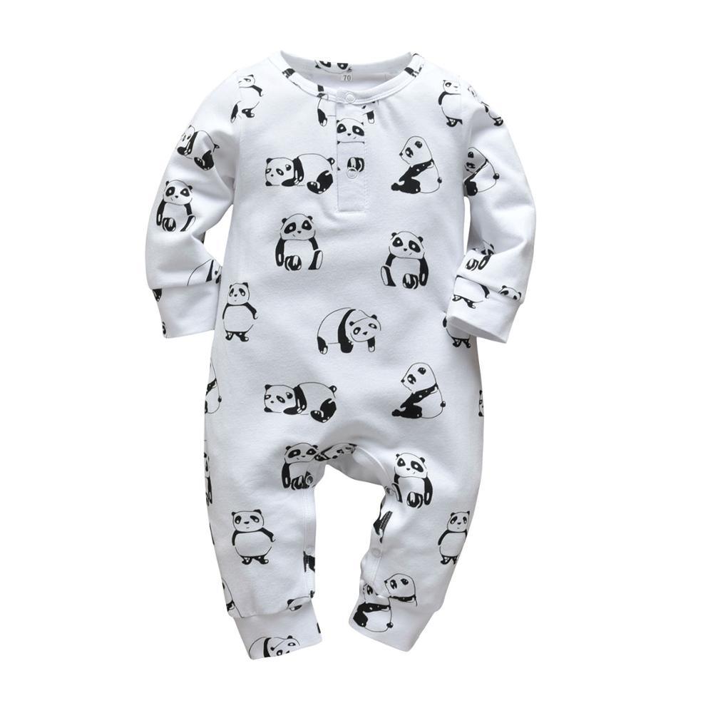 Mom+Dad=Me Baby's Gray Cotton Romper 19