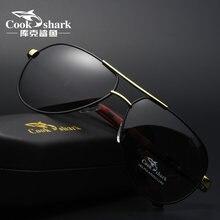Cookshark occhiali da sole occhiali da sole degli uomini di marea occhiali da sole polarizzati di guida driver occhiali blu